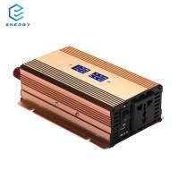 EGY Inverter Inverter Portabel Tenaga Surya Pintar DC 12V ke AC 220V