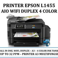 Printer Epson L1455 A3 - Wi-Fi, Duplex AllinOne - 4 Warna Infus Resmi