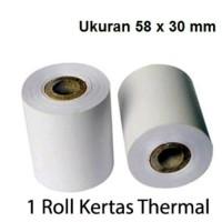 VSC 58x30 Kertas Struk Thermal Paper - EDC /Kertas Mobile Printer