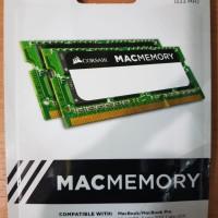 RAM Corsair 8GB (2x4) DDR3 1333 MHz SODIMM Mac Memory Laptop