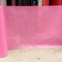 Fiber pagar motif rose warna pink /piber pagar rumah