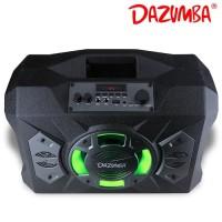 DE017 Speaker Aktif Portable Bluetooth Radio Dazumba DW286 Mic