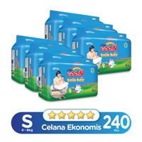 Goo.N Smile Baby Pants Wonderline Super Jumbo S isi 40 (Karton)