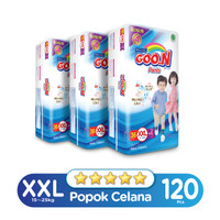 Goo.N Excelent Soft Premium Pants Super Jumbo XXL isi 40 (Karton)