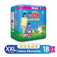 Goo.N Smile Baby Pants Wonderline Jumbo XXL isi 18+2 (Bonus Pack)