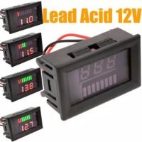 Voltmeter Kapasitas Baterai dan Volmeter Digital