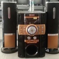 Multimedia Speaker Aktif GMC 885S 125WRMS Subwoofer Karaoke Bluetooth
