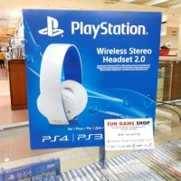 HEADSET FOR PS4/PS3 &PS VITA WIRELESS STEREO By Wah Acc