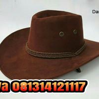 Topi promosi-koboy import-topi koboy-topi cowboy-topi fedora 08cb97603c