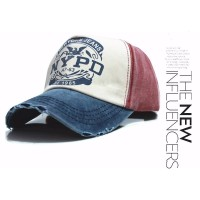 Topi Baseball Snapback NYPD Sport Fashion - Brown Canvas n Blue 746dc8e6b7