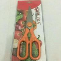 Gunting Dapur Supra warna/Kitchen Scissors Supra