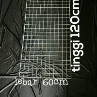 Rak gantungan aksesoris kawat 60x120