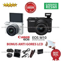 CANON EOS M10 KIT 15-45MM ORIGINAL - KAMERA MIRRORLESS CANON EOS M10