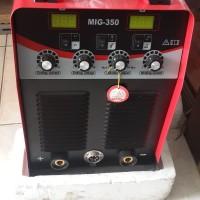 mesin inverter las dc co2 merk redbo mig 350 amp igbt