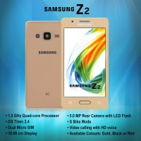 SAMSUNG Z2 4G LTE OS TIZEN RAM 1GB ROM 8GB DUAL CAMERA GARANSI RESMI