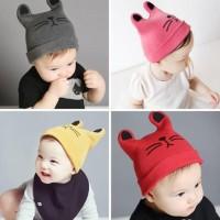 Harga rabbit baby hat rajut topi anak bayi kupluk cewek cowok boy  c97fda7c94