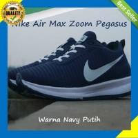 Sepatujak: Sepatu Nike Air Max Zoom Pegasus Warna Navy Putih Cocok Unt