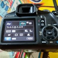 Kamera canon DSLR eos 1100D siap pakai