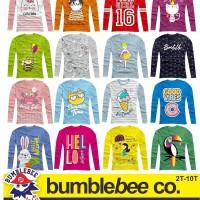 Kaos Anak Ready Bumblebee Longsleeve - Motif Girl