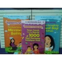 3 Buku Parenting Mommyclopedia Panduan Merawat Bayi Dr Meta Hanindita