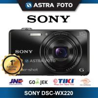 SONY CYBERSHOT DSC-WX220 KAMERA POCKET GARANSI RESMI 1 TAHUN