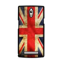 Casing Hp Bendera Inggris Oppo Find 7 Custom Case