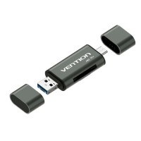 Vention CCH All In 1 Micro USB 3.0 Type C OTG Card Reader Micro SD TF