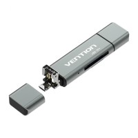 Vention CCJ All In 1 Micro USB 2.0 Type C OTG Card Reader Micro SD TF