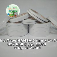 Double tape 6 mm isi 624 roll gosend