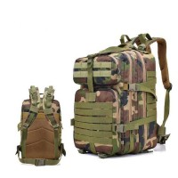 Tas Ransel Hiking Camping Mountaineering Military - army green