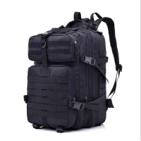 Tas Ransel Hiking Camping Mountaineering Military - hitam