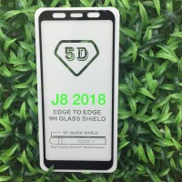 SAMSUNG J7 PRO, ‎J8 2018 TEMPERED GLASS 5D COLOR / WARNA FULL COVER