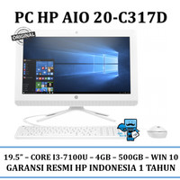PC HP All-in-One - 20-c317d -  Win10 - Original