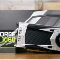 Vga Card nVidia Geforce GTX1060 6GB DDR5 U-6G - Dual Fan-One Key OC