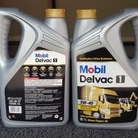Delvac 1 5w40 Galon 5 Liter Asli (ada hasil Lab Trakindo)