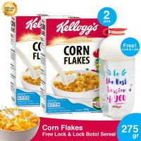 Buy 2 Corn Flakes 275gr FREE Lock & Lock Botol Sereal [P]