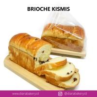 Brioche Kismis | Roti Kismis | Makanan Ringan | Cemilan Sehat | Kue