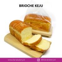 Brioche Keju | Roti Keju | Makanan Ringan | Cemilan Sehat | Kue | Susu