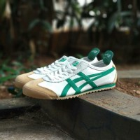 Sepatu Asics Onitsuka Tiger Mexico 66 White green Brown