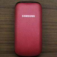 HP Handphone Samsung Flip Satu Kartu Model GT-E1195 Atau E1195 Mulus