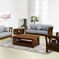kursi tamu sofa minimalis motif terbaru jati - mebel jepara