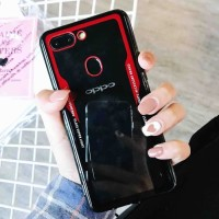 Softcase Marble Miror Premium Bumper Clear Case Cover Casing Oppo F7