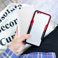 Softcase Marble Miror Premium Bumper Clear Cover Case Casing Oppo A83