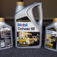 Oli Diesel Delvac 1 5W40 Paket Bundling 7 liter Asli (lab Trakindo)
