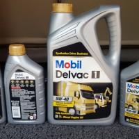 Oli Diesel Delvac 1 5W40 Paket Bundling 8 liter Asli (lab Trakindo)