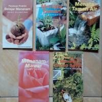 Paket Hemat Buku Seri Menata Taman dan Menanam