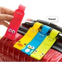 447 Travel Luggage Tag Koper Lucu Motif Karakter Disney