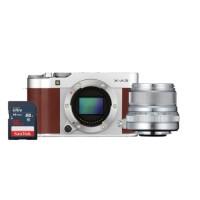 Harga fujifilm x a3 mirrorless digital camera with xf23mm f2 lens brown | Pembandingharga.com