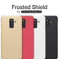 Samsung Galaxy J8 Nillkin Frosted Hardcase (Free Anti Gores) - Putih