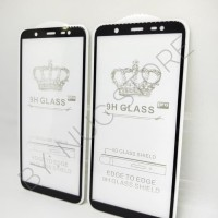 Samsung J8 Glass Pro Tempered Glass 3D Curve Full Cover 5D Full Glue